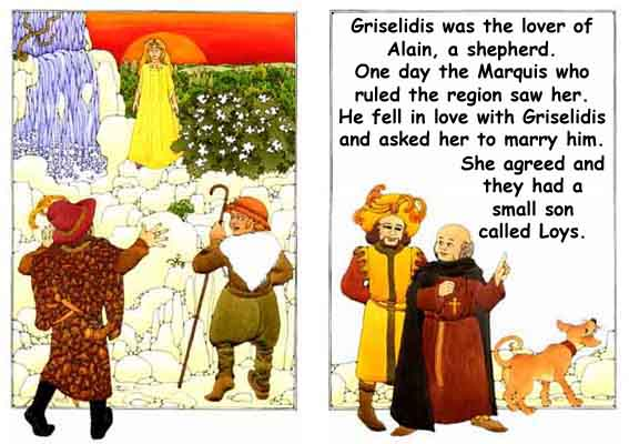 The Marquis sees Griselidis